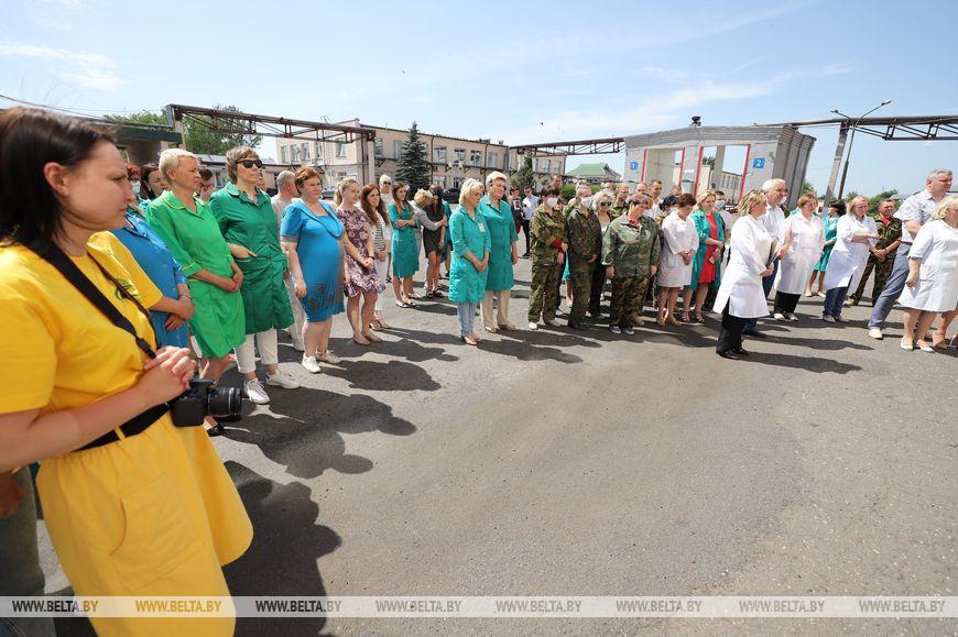 Кочанова ознакомилась с работой крупных барановичских предприятий