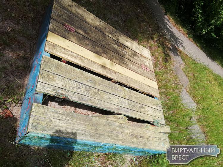 Жильцы показали свой двор: трава по пояс ребёнку, бычки, мусор и заколоченная песочница