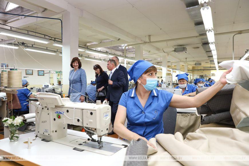 Кочанова с рабочей поездкой посетила Пинск