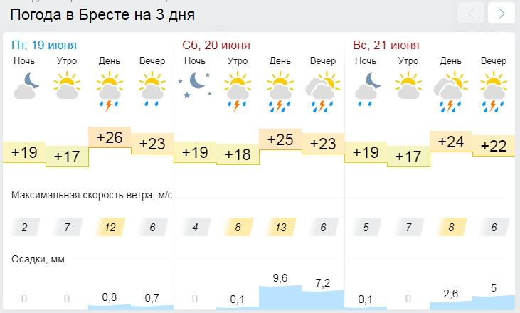 Синоптики рассказали о погоде в выходные — зонты пригодятся