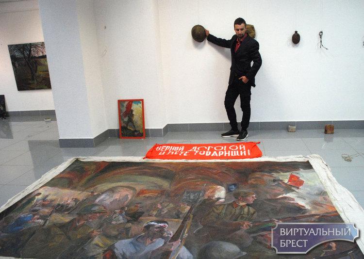В Бресте открылась выставка живописи Владимира Сайко