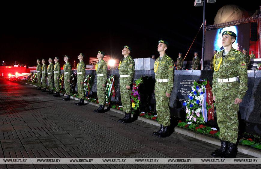 Мероприятия в Брестской крепости прошли с участием Лукашенко , сегодня он в Бресте
