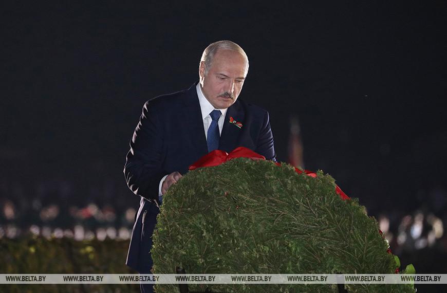 Лукашенко: подвиг воинов Брестской крепости стал первым шагом на пути к Победе