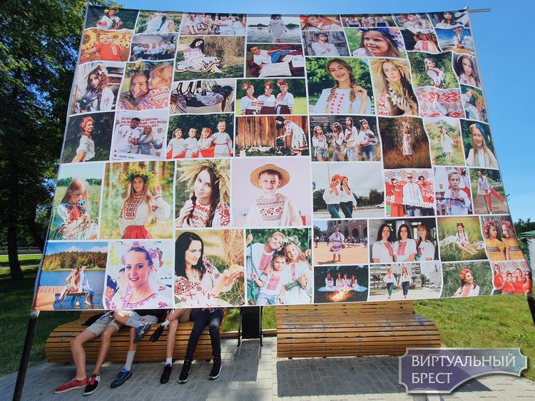 Показываем фотки, как проходит в Бресте День вышиванки