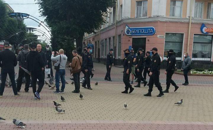 Противникам завода АКБ не дали встретиться на площади четвертое воскресенье подряд