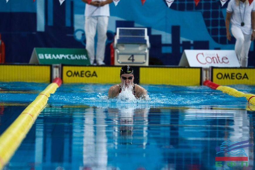 Белорусская пловчиха Анастасия Шкурдай переписала национальный рекорд на 100 м на спине