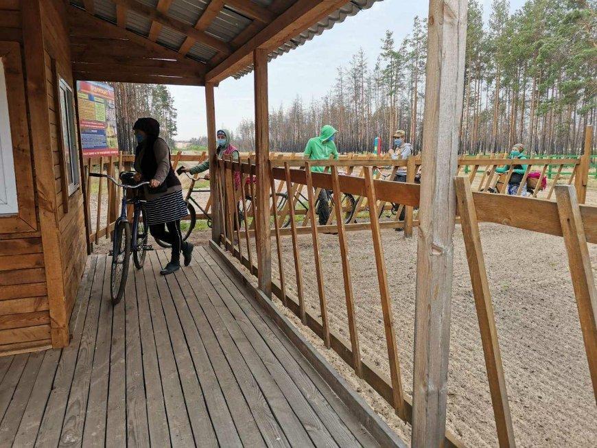 Более 300 украинцев получили пропуска для сбора ягод в Ольманских болотах