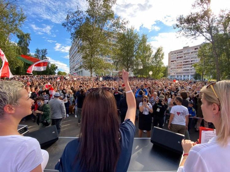 В Бресте 25 июля пройдет пикет в поддержку Светланы Тихановской