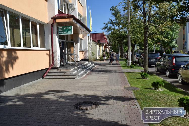 Небольшая аллейка вечнозелёных туй появилась ко Дню города на улице Куйбышева