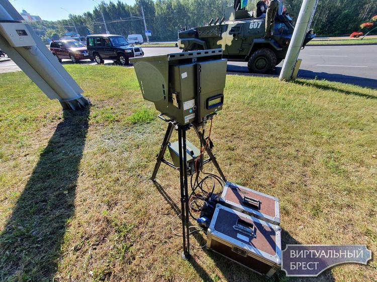Планируемые места установки датчиков контроля скорости с 3 по 6 августа
