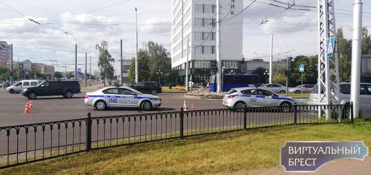 В Бресте произошла дорожная авария с участием школьника на велосипеде