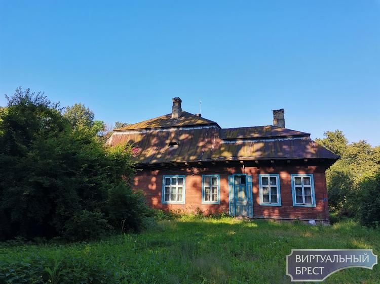 Деревня Заполье Пинского района. Усадьба Плятеров