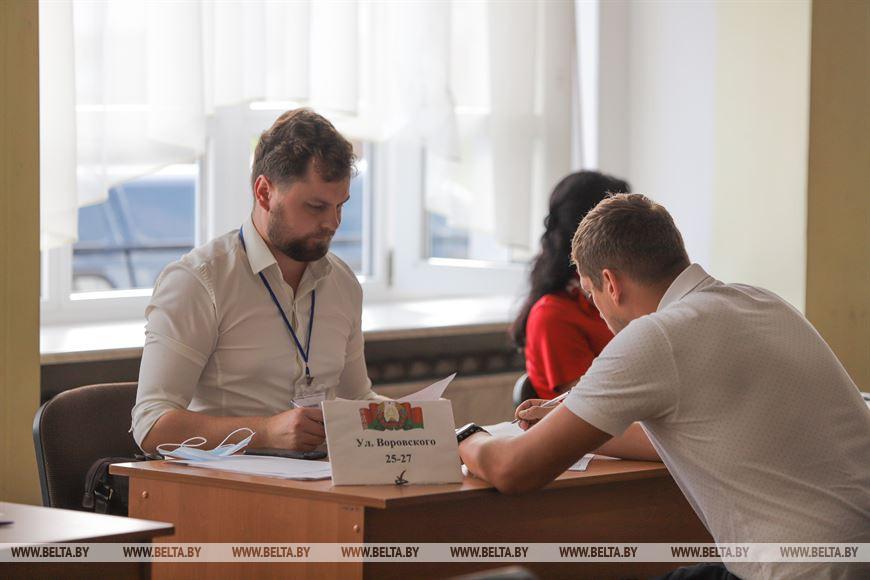 Облизбирком отмечает высокую явку избирателей в Брестской области