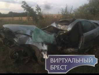 В Ляховичском районе смертельное ДТП - погибла 15-летняя девушка, парень в реанимации